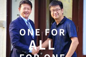 ONE FOR ALL FOR ONE  がんばれ、蒲郡!鈴木寿明さんがやって来た!!